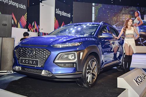 Hyundai Kona 2019 tại buổi ra mắt khách Việt ...