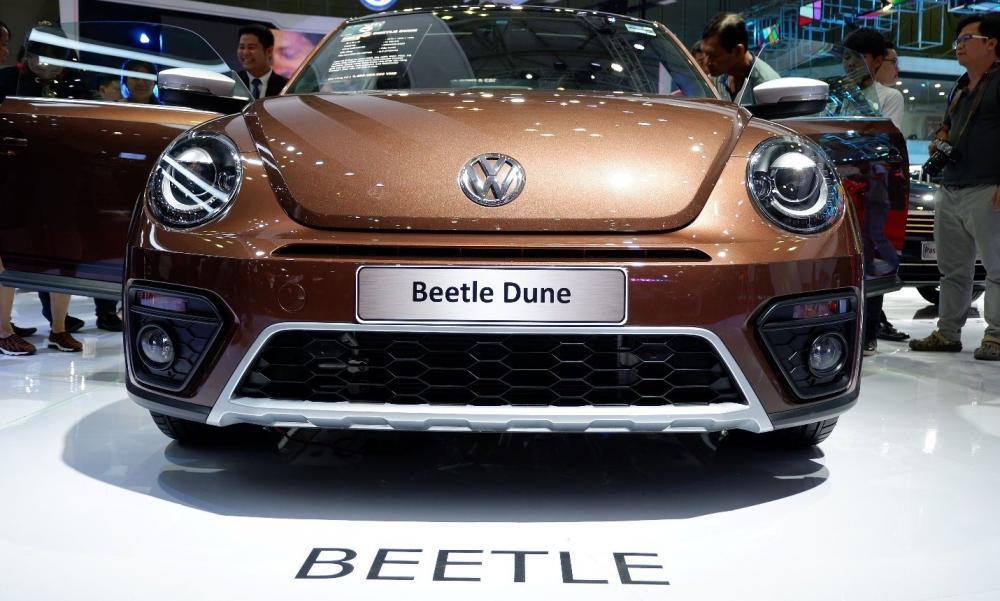 Chi tiết Volkswagen Beetle mới trình làng tại VMS 2018