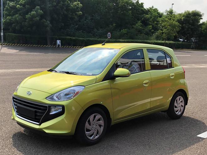 Hyundai Santro chuẩn bị ra mắt khách Việt, cạnh tranh với VinFast Fadil?