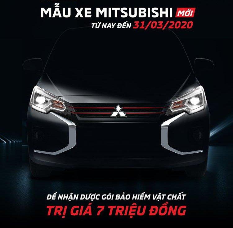 Mitsubishi Việt Nam tung ưu đãi cho khách đặt mua Attrage 2020 chuẩn bị ra mắt 1a