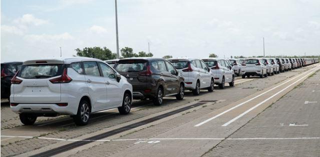 Lô xe Mitsubishi Xpander Cross 2020 đầu tiên đã cập cảng Việt Namsdg