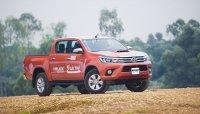 Mua Toyota Hilux 2015, miễn phí 1 năm bảo hiểm