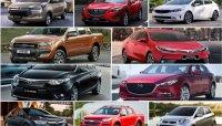 Ước tính giá lăn bánh 6 xe ô tô đang được ưa chuộng tại Việt Nam