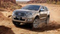 Ford Everest 2019 nâng cấp lộ diện, mượn sức mạnh của Ranger Raptor