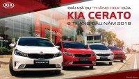 Giá xe Kia Cerato 2018 mới nhất tháng 7/2018