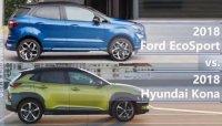 Mua SUV đô thị: Chọn Hyundai Kona 2018 hay Ford Ecosport 2018?