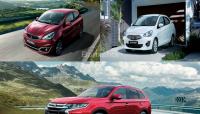 Tháng 10: Mitsubishi giảm giá kịch sàn các mẫu Outlander, Mirage, Attrage