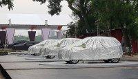 Bộ 3 xe ô tô VinFast xuất hiện tại công viên Thống Nhất trước giờ G ra mắt