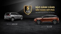 Peugeot 5008 và 3008 ưu đãi cho khách hàng sở hữu xe trong tháng 11/2018