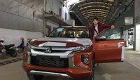 Mitsubishi Triton 2019 đã về đại lý tại Hà Nội, chờ ngày ra mắt