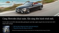 Mercedes-Benz Việt Nam dành riêng ưu đãi tri ân khách hàng dịp đầu năm 2019