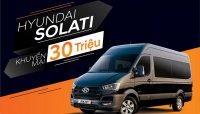 Giá xe Hyundai Solati tháng 3/2019 giảm 30 triệu đồng tại Việt Nam