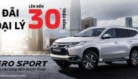 Giá xe Mitsubishi Pajero Sport Gasoline 4x2 AT giảm 30 triệu đồng trong tháng 3/2019