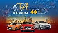 TC Motor tung khuyến mãi đến 40 triệu đồng cho khách mua xe Hyundai dịp cuối năm