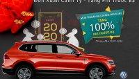 Volkswagen Tiguan Allspace Highline được tặng 100% phí trước bạ trước dịp Tết 2020