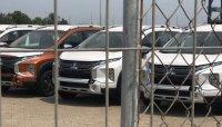 Lô xe Mitsubishi Xpander Cross 2020 đầu tiên đã cập cảng Việt Nam