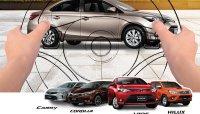 Cơ hội lái thử xe Toyota trên toàn quốc