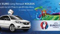 Mua xe Renault Koleos được đi du lịch tại Pháp