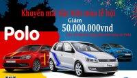 Từ 20/4/2017, khách hàng mua Volkswagen Polo có cơ hội nhận ưu đãi 50 triệu tiền mặt