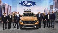 Ford Ranger 2019 ra mắt Mỹ với động cơ EcoBoost 2.3L và hộp số 10AT