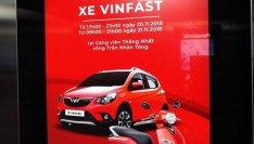 VinFast Fadil chuẩn bị ra mắt khách hàng Việt