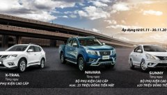 Nissan Việt Nam ưu đãi lớn trong tháng 11 cho khách mua xe