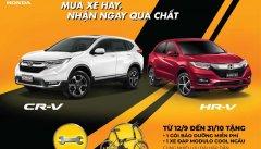 Khách Việt Mua Honda CR-V và HR-V sẽ được tặng quà gần 10 triệu đồng đến hết tháng 10/2019